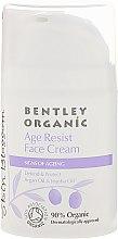 Düfte, Parfümerie und Kosmetik Schützende Anti-Aging Gesichtscreme mit Argan- und Jojobaöl - Bentley Organic Skin Blossom Age Resist Face Cream