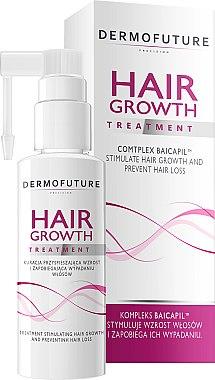 Pflegekur zur Stimulierung des Haarwachstums - DermoFuture Hair Growth Peeling Treatment — Bild N1