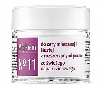 Gesichtscreme für gemischte und fettige Haut mit erweiterten Poren - Fitomed Herbal Cream Nr11 — Bild N1