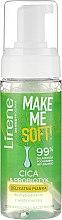 Düfte, Parfümerie und Kosmetik Gesichtsreinigungsschaum für empfindliche Haut - Lirene Make Me Soft Cica & Probiotyk