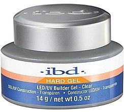 Düfte, Parfümerie und Kosmetik LED/UV Aufbaugel klar - IBD LED/UV Builder Clear Gel
