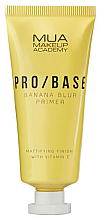 Düfte, Parfümerie und Kosmetik Mattierender Gesichtsprimer mit Bananenduft - Mua Pro/ Base Banana Blur Primer