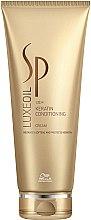 Düfte, Parfümerie und Kosmetik Haarspülung-Creme mit Keratin für schutzbedürftiges Haar - Wella SP Luxe Oil Keratin Conditioning Cream