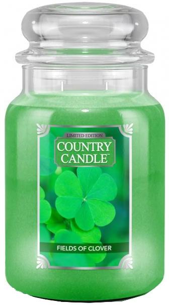Duftkerze im Glas Fields Of Clover - Country Candle Fields Of Clover — Bild N1