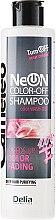 Düfte, Parfümerie und Kosmetik Spezial-Shampoo zum beschleunigten Auswaschen von Haarfarben und Tönungen - Delia Neon Color Off Shampoo
