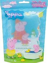 Düfte, Parfümerie und Kosmetik Kinderbadeschwamm Peppa Pig Winter - Suavipiel Peppa Pig Bath Sponge