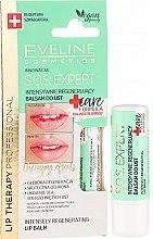 Düfte, Parfümerie und Kosmetik Intensiv regenerierender Lippenbalsam - Eveline Cosmetics Lip Therapy Sos Expert Care Formula Intensely Regenerating Lip Balm