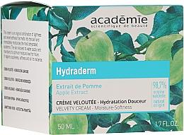 Düfte, Parfümerie und Kosmetik Feuchtigkeitsspendende Gesichtscreme mit Apfelextrakt - Academie Velvety Cream Hydrating Treatment