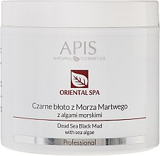 Heilschlamm aus dem Toten Meer mit Algen - APIS Professional Oriental Spa Dead Sea Black Mud With Sea Algae — Bild N2
