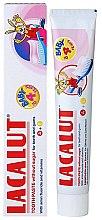 Düfte, Parfümerie und Kosmetik Kinderzahnpasta 0-4 Jahre mit Himbeergeschmack - Lacalut Baby Toothpaste