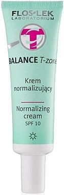 Normalisierende Tagescreme für die T-Zone - FlosLek Balance T-Zone Normalizing Day Cream SPF 10 — Bild N1