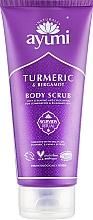 Düfte, Parfümerie und Kosmetik Körperpeeling mit Kurkuma und Bergamotte - Ayumi Turmeric & Bergamot Body Scrub