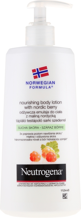 Körperlotion - Neutrogena Nourishing Body Lotion With Nordic Berry Normal To Dry Skin
