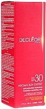 Düfte, Parfümerie und Kosmetik Sonnenschutzmilch mit Tahiti-Vanille und Rosenöl SPF 30 - Decleor Aroma Sun Expert Protective Hydrating Milk SPF 30