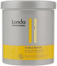 Düfte, Parfümerie und Kosmetik Intensiv regenerierende Behandlung für geschädigtes Haar mit Seidenextrakt, Mandelöl und Panthenol - Londa Professional Visible Treatment