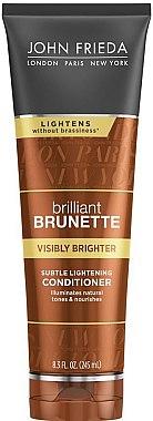 Haarspülung für dunkles Haar - John Frieda Brilliant Brunette Visibly Brighter Subtle Lightening Conditioner — Bild N1
