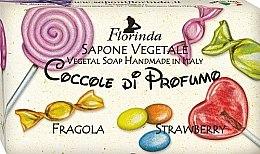 Düfte, Parfümerie und Kosmetik Handgemachte Naturseife für Kinder mit Erdbeere - Florinda Sapone Vegetale Strawberry