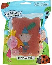 Düfte, Parfümerie und Kosmetik Kinder-Badeschwamm Ben & Holly Ben rot-blau - Suavipiel Ben & Holly Bath Sponge