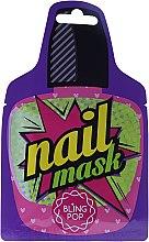 Düfte, Parfümerie und Kosmetik Stärkende Nagelmaske mit Sheabutter - Bling Pop Shea Butter Healing Nail