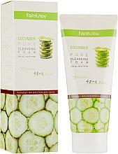 Düfte, Parfümerie und Kosmetik Gesichtsreinigungsschaum mit Gurkenextrakt für alle Hauttypen - FarmStay Pure Cleansing Foam Cucumber