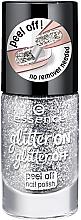 Düfte, Parfümerie und Kosmetik Nagellack mit Glitzer - Essence Glitter On Glitter Off Peel Off Nail Polish