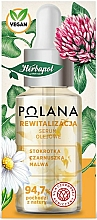 Düfte, Parfümerie und Kosmetik Revitalisierendes Gesichtsserum-Öl mit Gänseblümchen, Schwarzkümmel und Malve - Polana