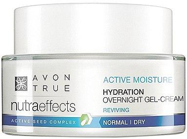 Regenerierende Gelcreme für die Nacht - Avon True Nutra Effects Hydration Overnight Gel-Cream — Bild N1