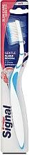 Düfte, Parfümerie und Kosmetik Zahnbürste weich Slim Care Sensitive blau-weiß - Signal Slim Care Sensitive Soft