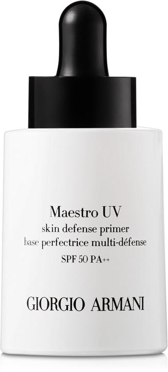 Sonnenschützender Primer LSF 50 - Giorgio Armani Maestro UV Skin Defence Primer Sunscreen Broad Spectrum SPF50 — Bild N1