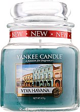 Düfte, Parfümerie und Kosmetik Duftkerze im Glas Viva Havana - Yankee Candle Viva Havana