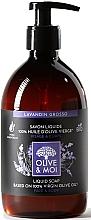 Düfte, Parfümerie und Kosmetik Flüssigseife mit Olivenöl und Lavendel - Saryane Olive & Moi Liquid Soap