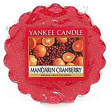 Düfte, Parfümerie und Kosmetik Tart-Duftwachs Mandarin Cranberry - Yankee Candle Mandarin Cranberry Tarts Wax Melts