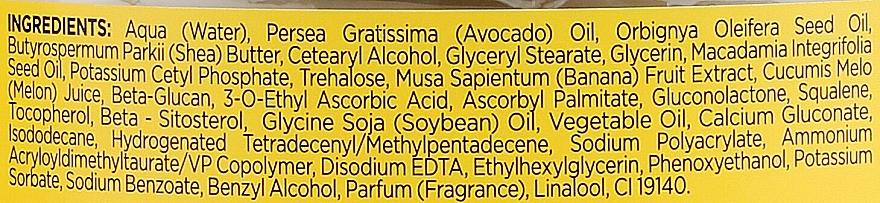 Energetisierende Körpercreme mit Bananen- und Zuckermelonenextrakt - Bielenda Smoothie Care — Bild N4