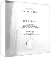 Düfte, Parfümerie und Kosmetik Anti-Falten Augenpads mit Liftingeffekt - Institut Esthederm Lift & Repair Eye Contour Lift Patches