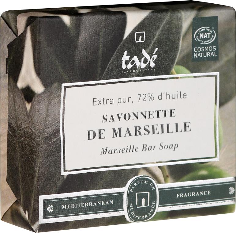 Naturseife für Gesicht und Körper mit Olivenöl - Tade Marseille Bar Soap — Bild N1