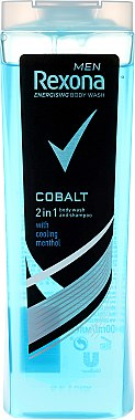 2in1 Shampoo & Duschgel - Rexona Men Cobalt Shower Gel Body & Hair — Bild N3