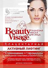 Düfte, Parfümerie und Kosmetik Lifting-Tuchmaske mit Plazenta - Fito Kosmetik Beauty Visage