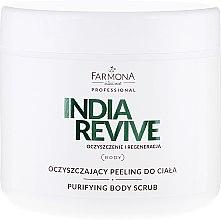 Düfte, Parfümerie und Kosmetik Glättendes Körperpeeling - Farmona Professional India Revive Scrab