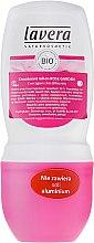 Düfte, Parfümerie und Kosmetik Deo Roll-on Antitranspirant Rose Garden - Lavera 24h Deo Roll-On