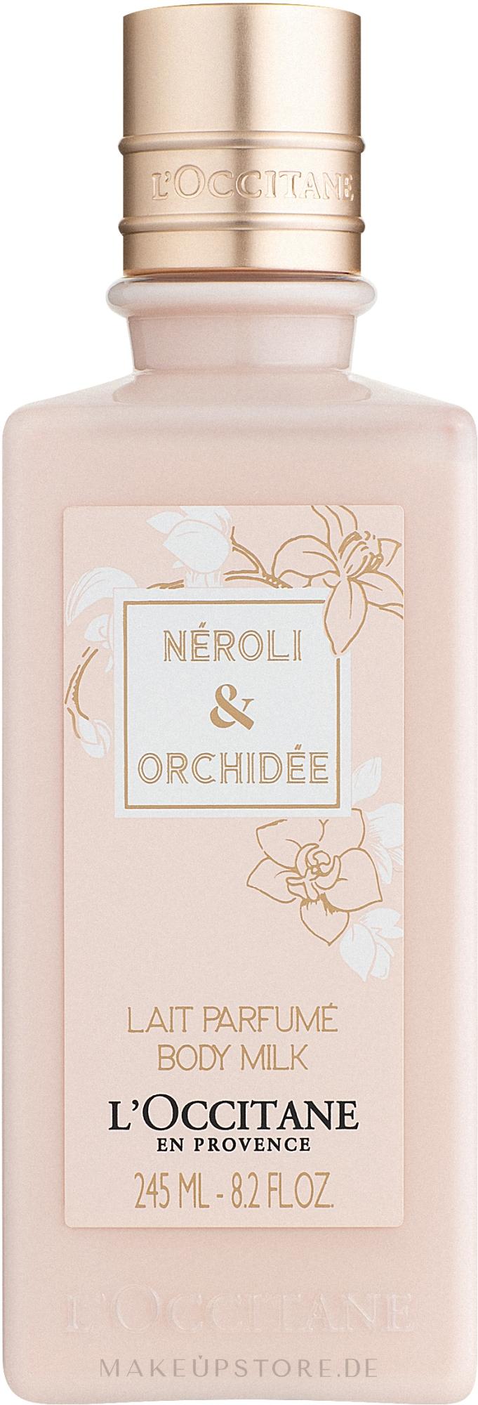 L'Occitane Neroli & Orchidee - Schützende und feuchtigkeitsspendende Körperlotion — Bild 245 ml