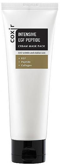 Vitalisierende Anti-Falten Gesichtscreme-Maske mit Peptiden und Kollagen - Coxir Intensive EGF Peptide Cream Maskpack — Bild N1