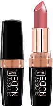 Düfte, Parfümerie und Kosmetik Lippenstift - Wibo Glossy Nude Lipstick