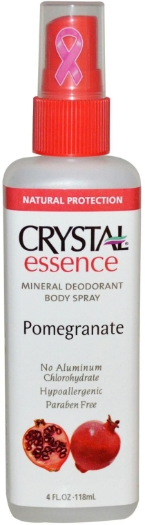 Mineralisches Deospray mit Granatapfelduft - Crystal Essence Deodorant Body Spray Pomegranate — Bild N1