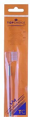 2in1 Bürste und Kamm für Augenbrauen und Wimpern 6036 weiß - Top Choice — Bild N2