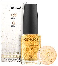 Düfte, Parfümerie und Kosmetik Nagelelixier mit reinem Gold für trockene, beschädigte und schwache Nägel - Kinetics Gold Elixir