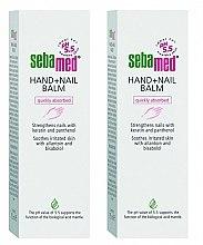 Düfte, Parfümerie und Kosmetik Handpflegeset - Sebamed Hand And Nail Balm (Hand- und Nagelbalsam 2x75ml)