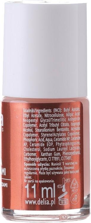 Nagelkonditionierer mit aktiven Ceramiden - Delia Cosmetics Active Ceramides Nail Conditioner — Bild N2