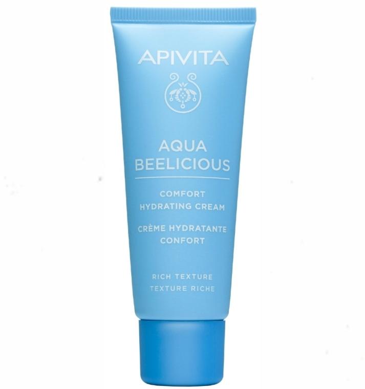 Reichhaltige feuchtigkeitsspendende Gesichtscreme - Apivita Aqua Beelicious Comfort Hydating Cream Rich Texture — Bild N1
