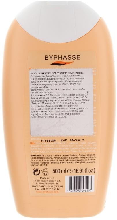 Duschgel - Byphasse Plaisir Shower Gel Tiare Flower — Bild N2