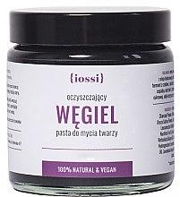 Düfte, Parfümerie und Kosmetik Klärende Gesichtsmaske mit Aktivkohle - Iossi